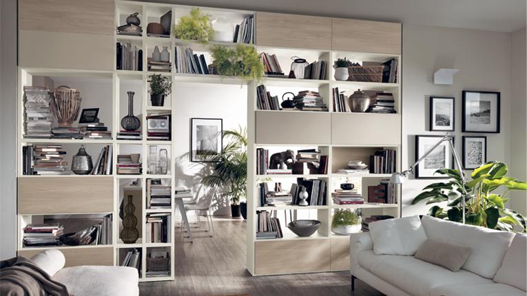 Arredamenti Cosenza area giorno scavolini motus living - mobilificio